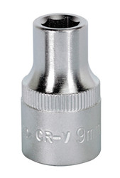 "Sealey S1209 WallDrive¨ Socket 9mm 1/2""Sq Drive"