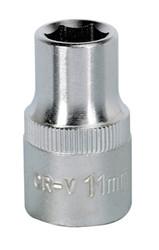 "Sealey S1211 WallDrive¨ Socket 11mm 1/2""Sq Drive"