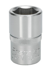 "Sealey S1216 WallDrive¨ Socket 16mm 1/2""Sq Drive"