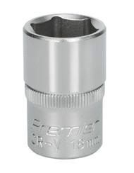 "Sealey S1218 WallDrive¨ Socket 18mm 1/2""Sq Drive"