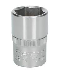 "Sealey S1219 WallDrive¨ Socket 19mm 1/2""Sq Drive"