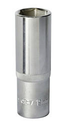 "Sealey S1219D WallDrive¨ Socket 19mm Deep 1/2""Sq Drive"
