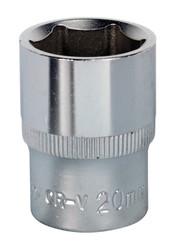"Sealey S1220 WallDrive¨ Socket 20mm 1/2""Sq Drive"