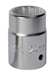 "Sealey S34/24 WallDrive¨ Socket 24mm 3/4""Sq Drive"