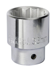 "Sealey S34/33 WallDrive¨ Socket 33mm 3/4""Sq Drive"
