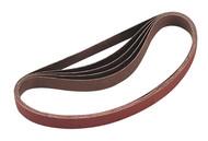Sealey SA355/B80G Sanding Belt 20 x 520mm 80Grit Pack of 5