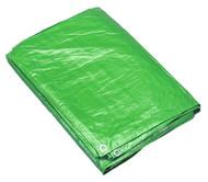 Sealey TARP1012G Tarpaulin 3.05 x 3.66mtr Green