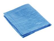 Sealey TARP1216 Tarpaulin 3.66 x 4.88mtr Blue