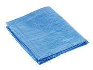Sealey TARP68 Tarpaulin 1.73 x 2.31mtr Blue