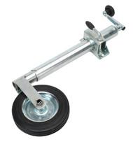 Sealey TB37 Jockey Wheel & Clamp ¯50mm - 200mm Solid Wheel