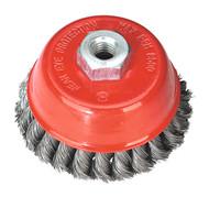 Sealey TKCB100 Twist Knot Wire Cup Brush ¯100mm M14 x 2mm