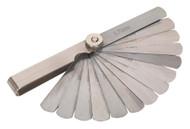 Sealey VS511 Feeler Gauge 15 Blade - Metric