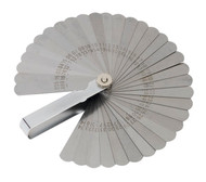 Sealey VS512 Feeler Gauge 35 Blade - Dual Marked