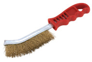 Sealey WB05/R Wire Brush Brassed Steel Plastic Handle
