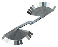 Siegen S0515 Feeler Gauge 26 Blade Offset - Dual Marked