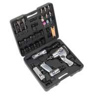 Sealey SA2004KIT Air Tool Kit 4pc with Accessories