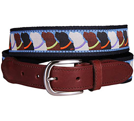 Maine Made Ribbon Belts