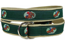 Equestrian Jumping Ribbon Ladies Belt