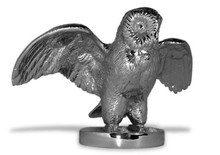 Owl Hood Ornament (Wings Open)