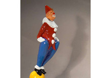 Clown Hood Ornament  (Enamel Finished)
