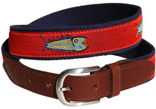 Fish Belt (on Red)
