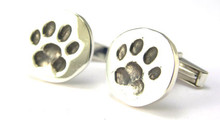 Dog Paw Cufflinks