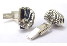 Baseball Glove Cufflinks
