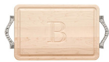 Monogrammed Cutting Board (F)