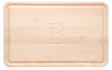 Monogrammed Cutting Board (B)