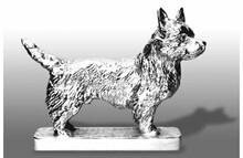 Cairn Terrier Hood Ornament