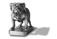 Bulldog Hood Ornament