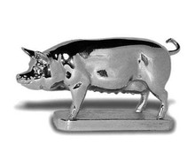 Pig Hood Ornament (Sow)