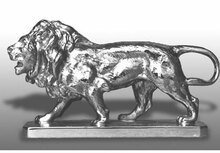 Lion Hood Ornament