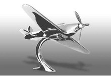 Hawker Hurricane Airplane Hood Ornament