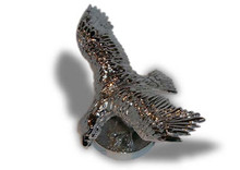 Eagle Hood Ornament (Small)