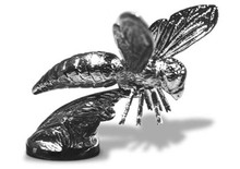 Bee Hood Ornament (Queen Bee)