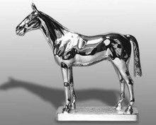 Ascot English Thoroughbred Horse Hood Ornament