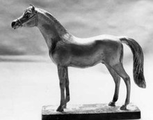 Arab Horse Hood Ornament (small)