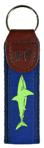 Lime Shark Key Fob