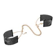 Desir Metallique Mesh Handcuffs - Black