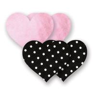 Bristols 6 - Pretty Pink Heart A/B Nippies