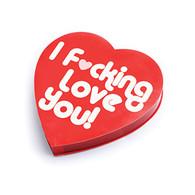 I F*CKING LOVE YOU CANDY HEART BOX