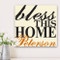 Personalized Bless This Home Canvas