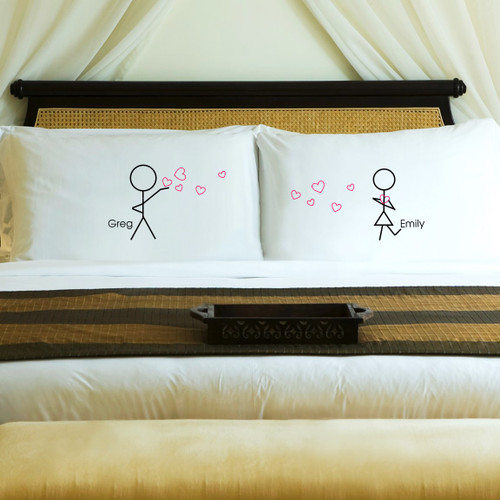 Personalized Couples in Love Pillow Cases
