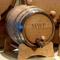 Personalized oak Wine barrel