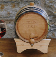 Couple's Anniversary Wine Barrel
