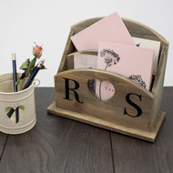 Personalized Couple's Letter Rack