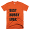 Best Hubby Ever T-Shirt in Orange
