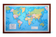 Personalized Wedding and Anniversary travel map