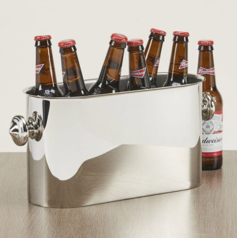 Personalized Multi Bottle Wine Chiller In Stainless Steel